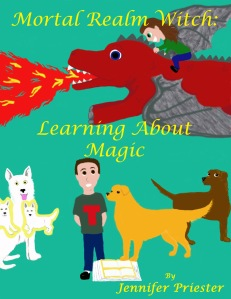 Front cover--MRW_Learning_About_Magic_with_title
